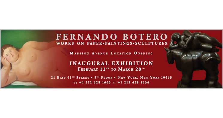 Banner Ad for Latin American Art Exhibition