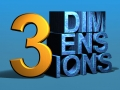 3 Dimensions, Photoshop CS 64 bit, 3D Text