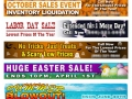 Seasonal Banner Ads for Website