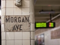 Morgan Avenue, L Train Stop, Brooklyn, NY