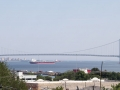 Staten Island view of Verrazano-Narrows Bridge
